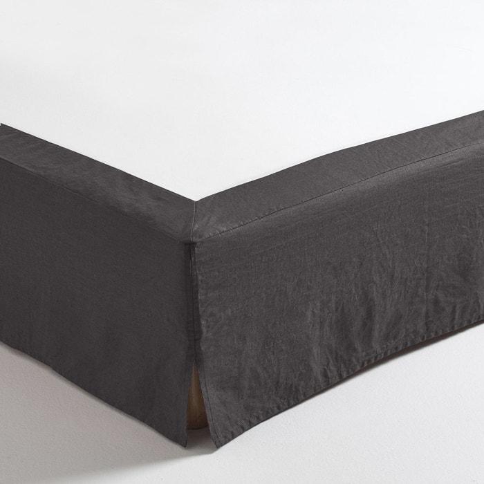 cache sommier lin lav coton lin o am pm la redoute. Black Bedroom Furniture Sets. Home Design Ideas