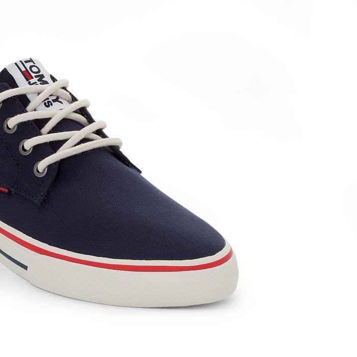 Tommy Hilfiger Canvas Lace-Up Chaussures Men Sneaker Loisirs Lacets fm0fm00596403