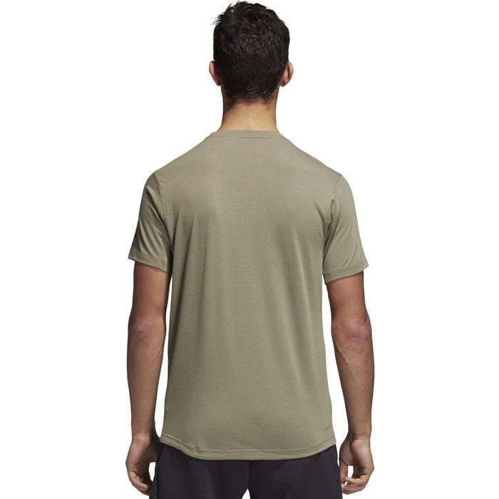 ADIDAS y manga cuello PERFORMANCE con Camiseta redondo corta rnq67rTUw