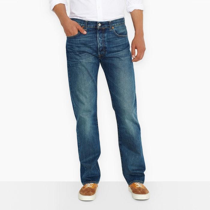 Jeans 501 regular, straight in denim  LEVI'S image 0