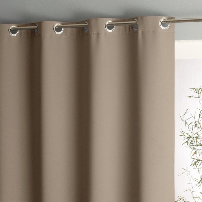Image Voda Double-Sided Blackout Eyelet Single Curtain La Redoute Interieurs