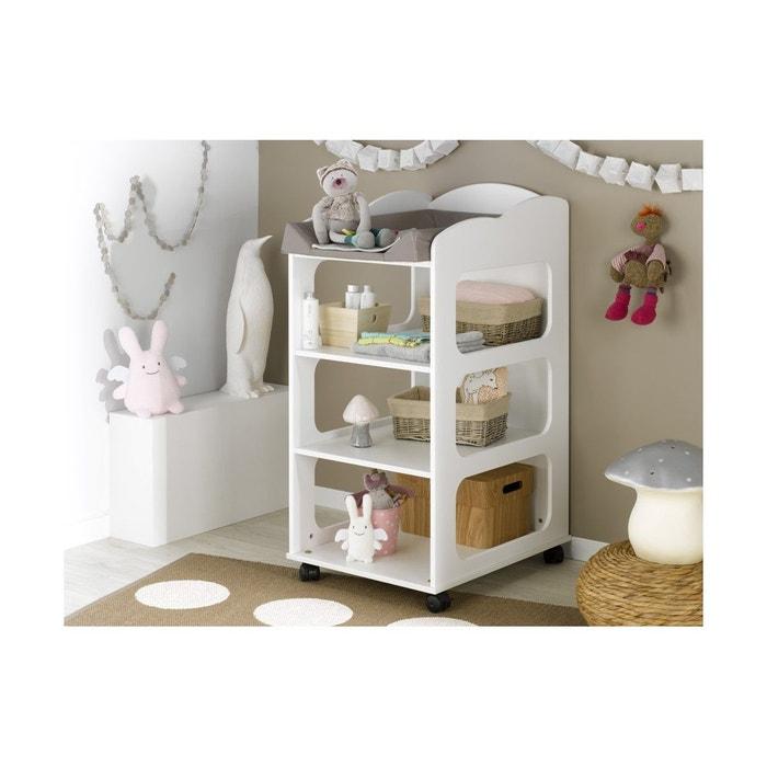 table langer b b soho blanc chambrekids la redoute. Black Bedroom Furniture Sets. Home Design Ideas