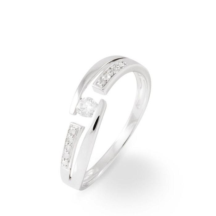 Solitaire or et diamant blanc Histoire D'or | La Redoute Acheter Le Meilleur quocJ8xEo