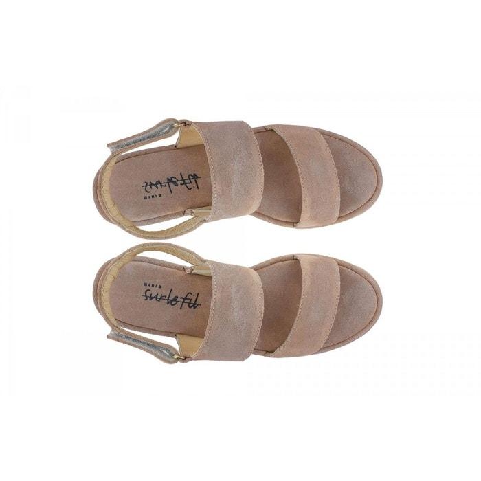 Sandales-manas sable Manas