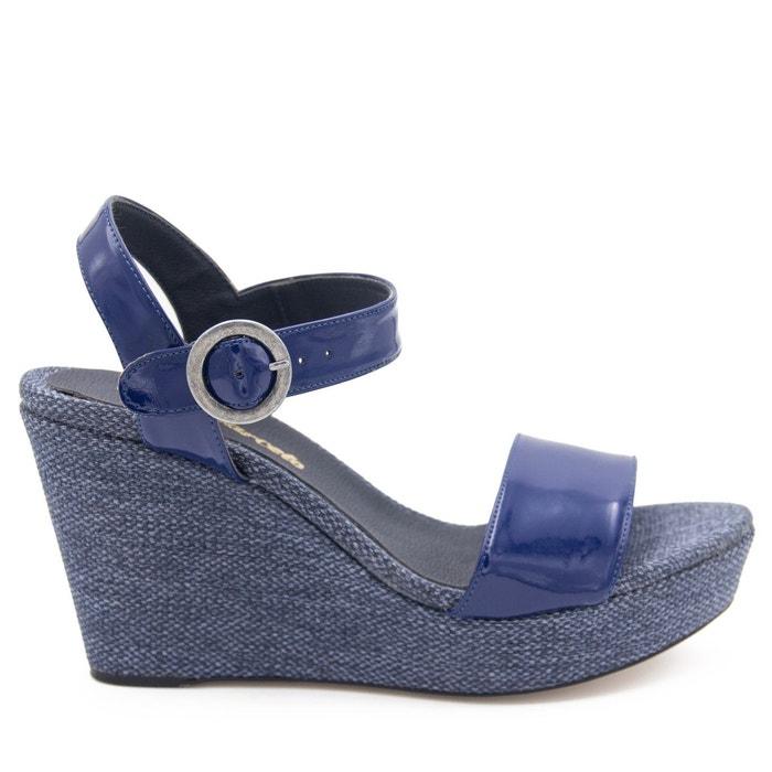 Sandales en cuir bleu Maria Barcelo Acheter Un Excellent Pas Cher classique agréable Livraison Gratuite En France De Nombreux Types De Prix Pas Cher PiFMMpX