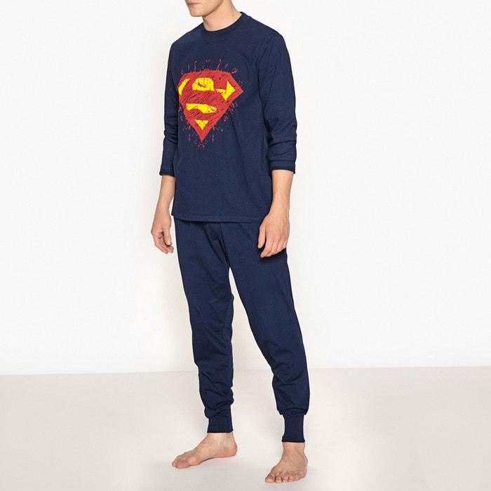 estampado Superman SUPERMAN de 243;n Pijama algod ZwwxS5qO