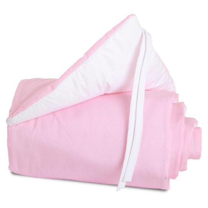 tour de lit cododo babybay midi mini rose clair babybay rose clair babybay la redoute. Black Bedroom Furniture Sets. Home Design Ideas