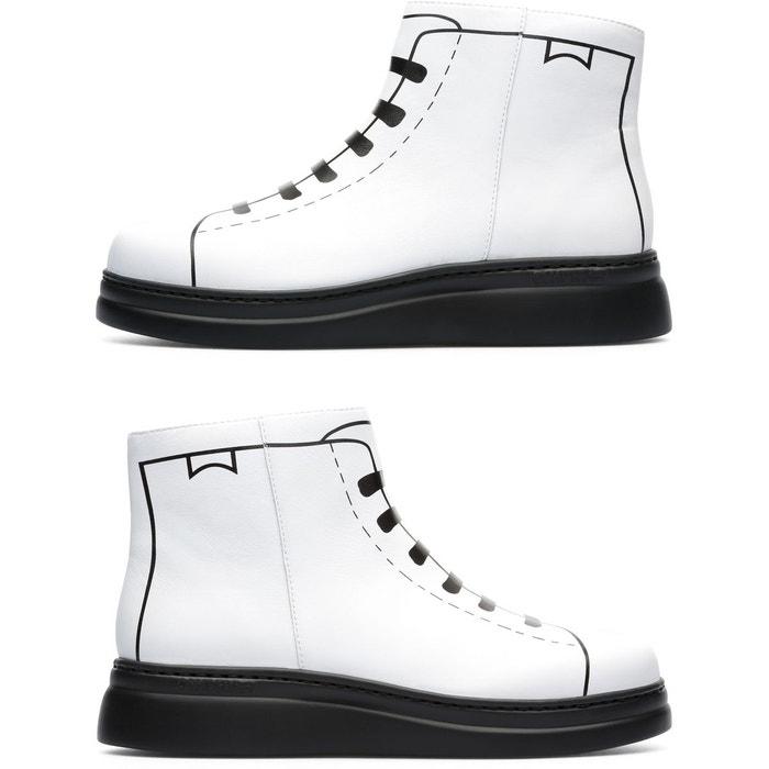 Twins k400276-001 baskets femme blanc Camper