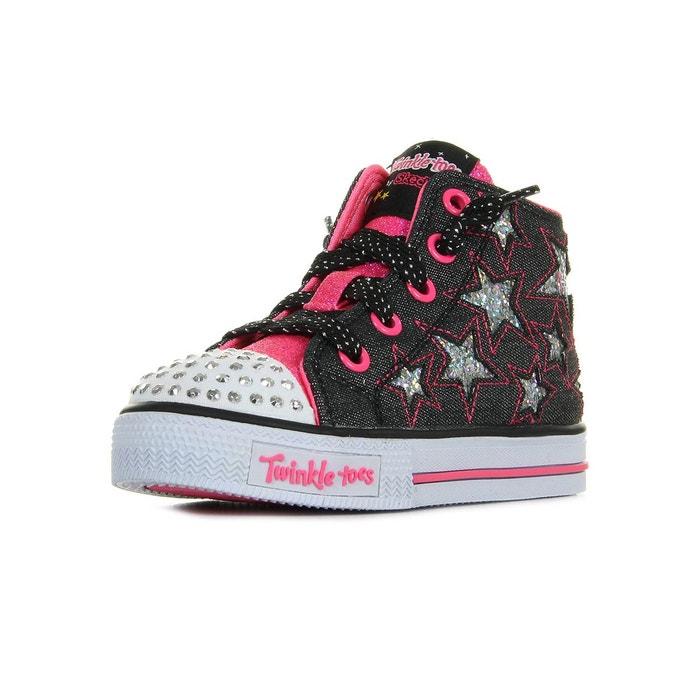 Baskets fille Skechers Shuffles - Rockin Stars RyZus