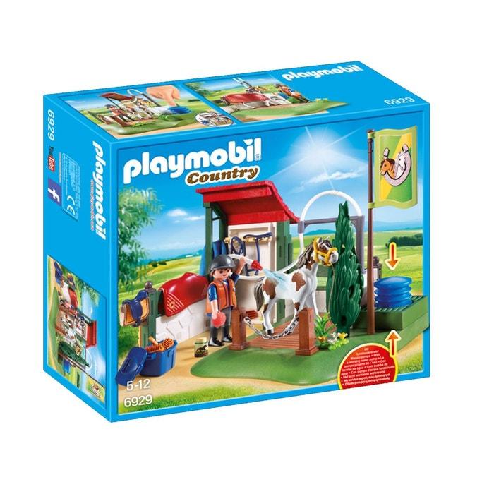 Box lavage pour chevaux pla6929 playmobil la redoute - Autocar playmobil ...