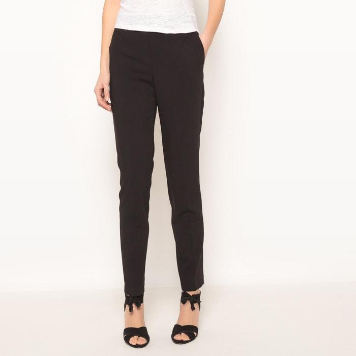 Image Pantaloni slim, vita elasticizzata R essentiel