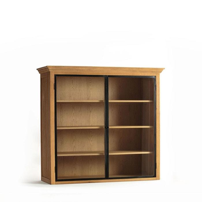 Bibliothèque haute chêne sablé, officine chêne naturel Am.Pm   La Redoute 8278e7e16b6b