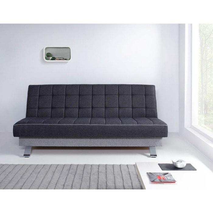 canap convertible dubai gris relaxima la redoute. Black Bedroom Furniture Sets. Home Design Ideas