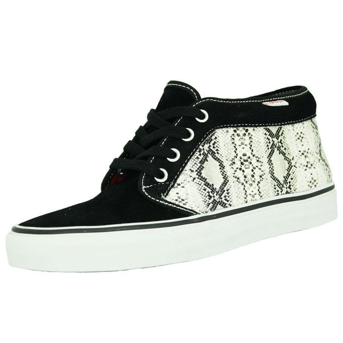 17c26d6904c Vans chukka 79 chaussures mode sneakers suede noir serpent unisex noir et  blanc Vans La Redoute GH8HUA1Z - destrainspourtous.fr