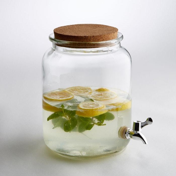 Récipient à boisson en verre transparent, taille S La Redoute Interieurs
