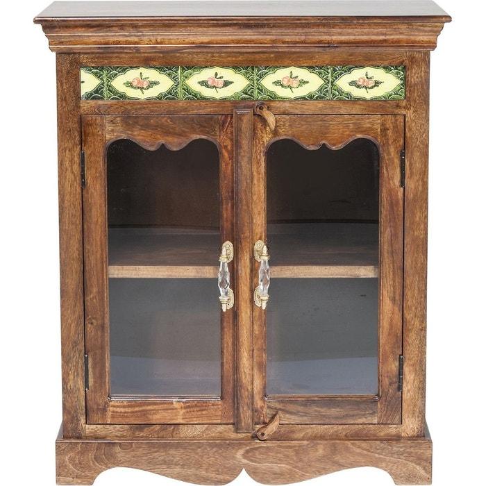 vitrine vintage romance kare design bois fonce kare design. Black Bedroom Furniture Sets. Home Design Ideas