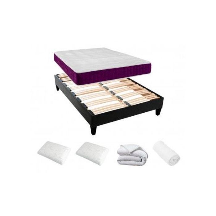 pack confort matelas m moire de forme blanc rendez vous deco la redoute. Black Bedroom Furniture Sets. Home Design Ideas