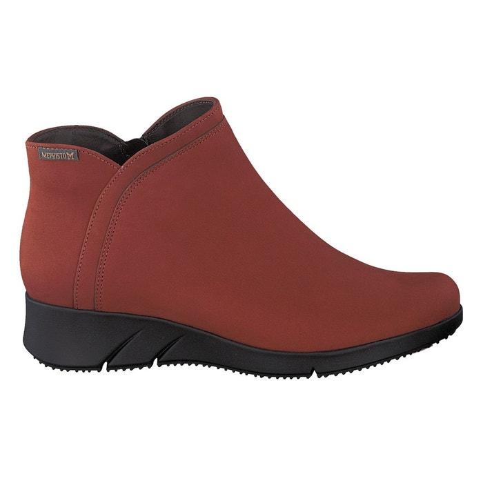 Boots margaux brique noir Mephisto Jeu Recommande Meilleur Endroit En Ligne Prix Incroyable Sortie S6DmNlKQP