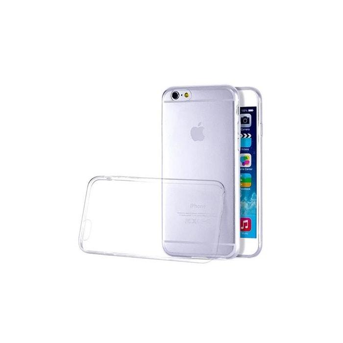 coque rigide transparente pour apple iphone 6 plus 6s plus couleur unique evetane la redoute. Black Bedroom Furniture Sets. Home Design Ideas