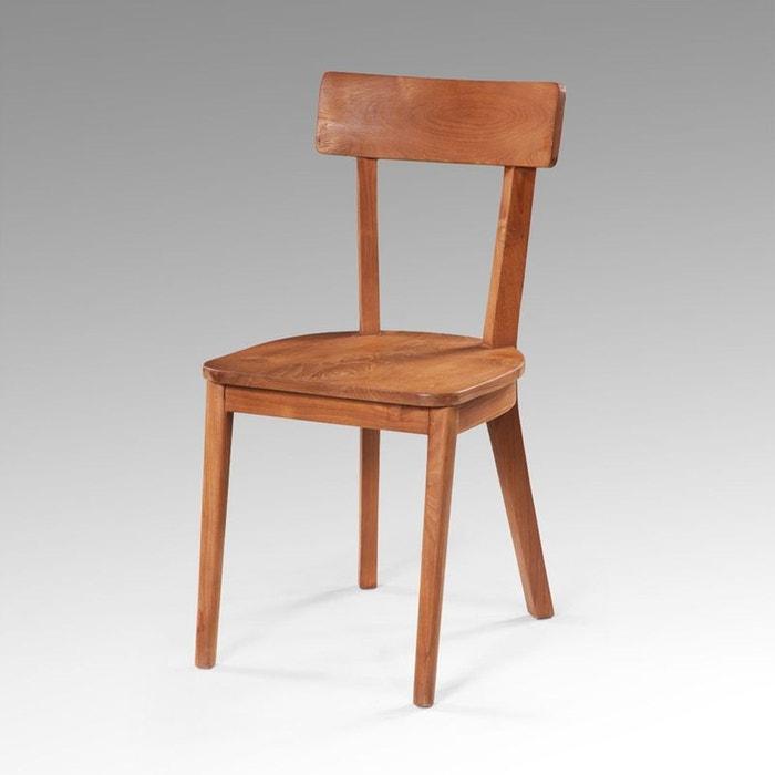 chaise en teck massif rubat kha home design la redoute. Black Bedroom Furniture Sets. Home Design Ideas