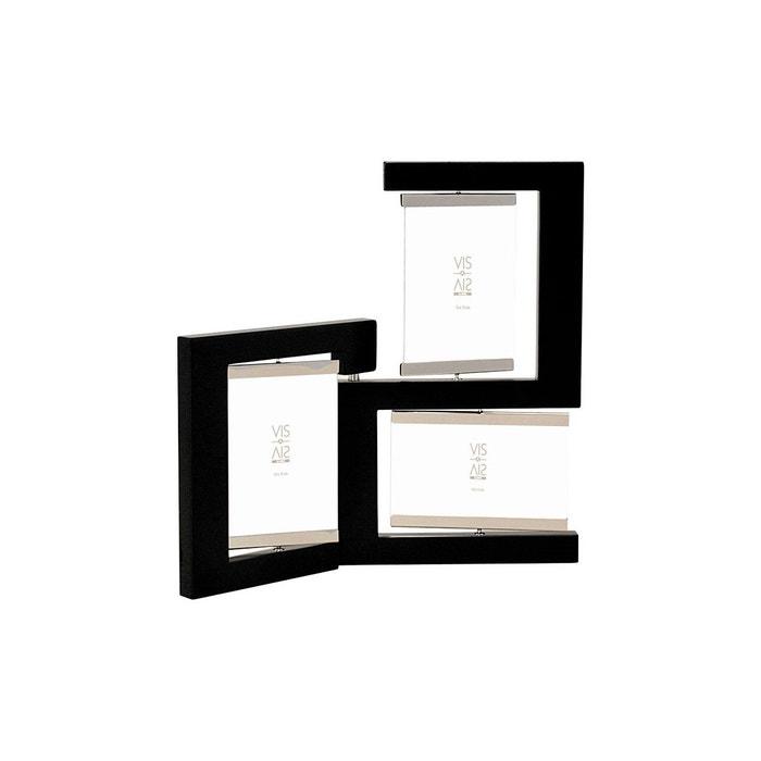 cadre pivotant 3 vues noir noir emde premium la redoute. Black Bedroom Furniture Sets. Home Design Ideas
