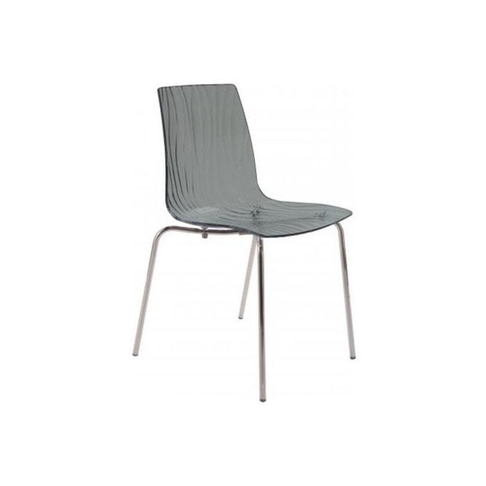 Chaise Design Transparente ARC DECLIKDECO Image 0