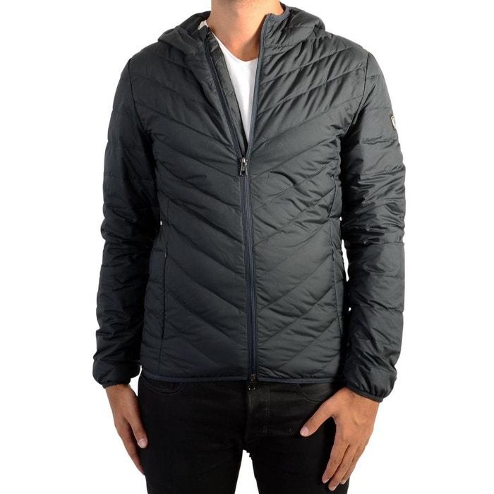 Doudoune ea7 down jacket emporio armani polyester bleu Emporio Armani Ea7    La Redoute d49532773a0