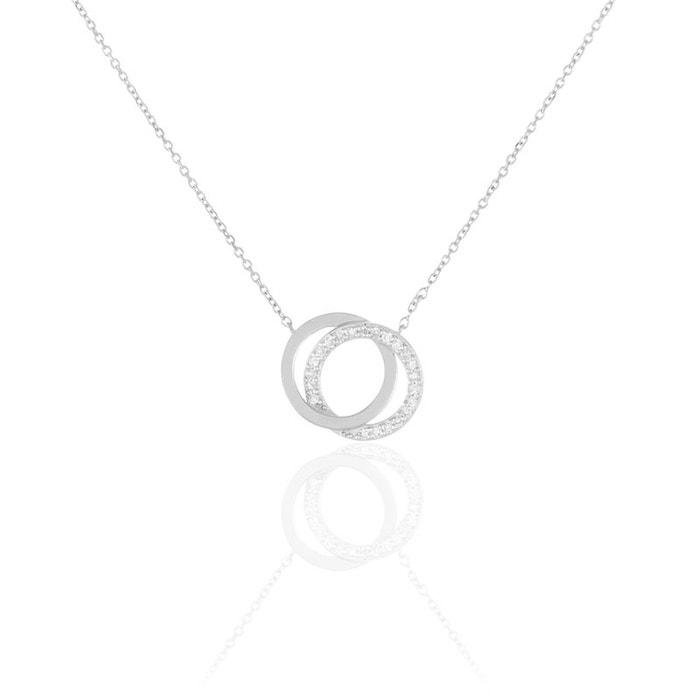 Collier absolu or blanc et diamants 42cm blanc Histoire D'or | La Redoute Magasin De Vente Pas Cher yQNdd