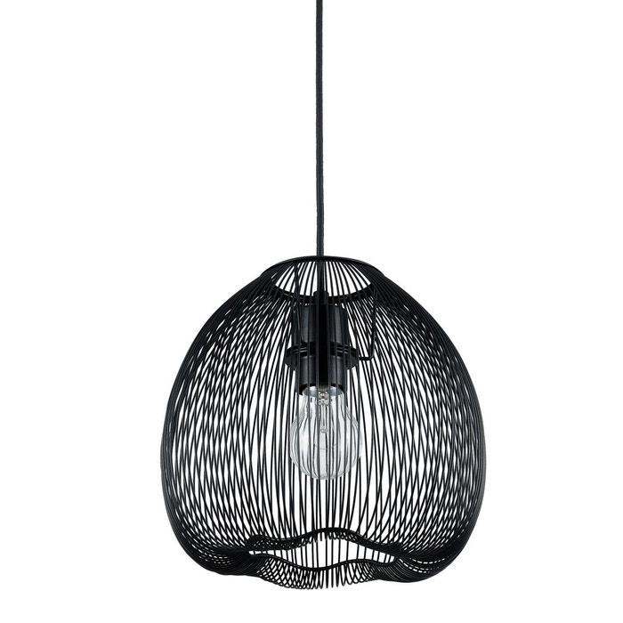 suspension cassandre noire noir rendez vous deco la redoute. Black Bedroom Furniture Sets. Home Design Ideas