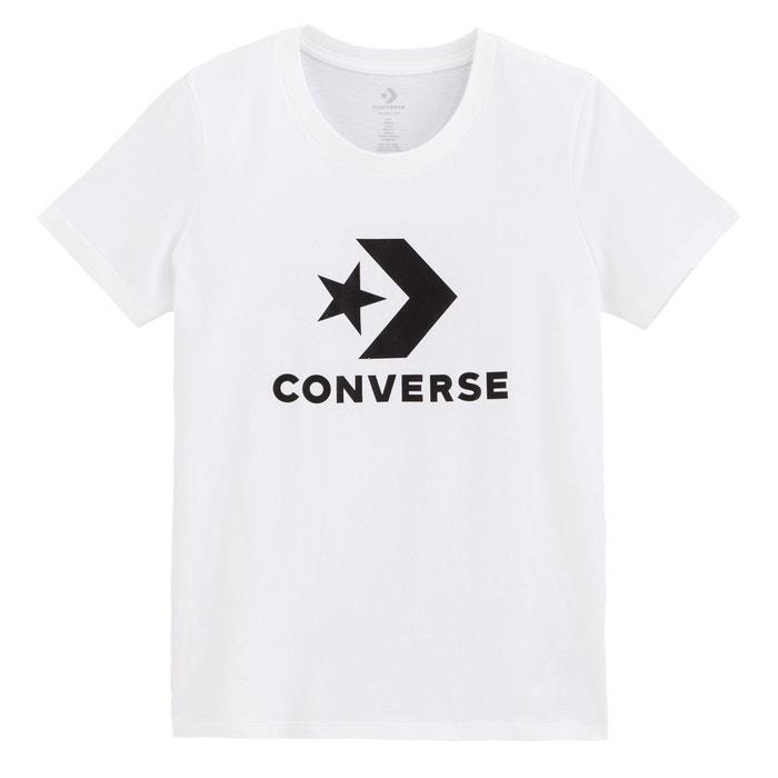 tee shirt converse femme coton
