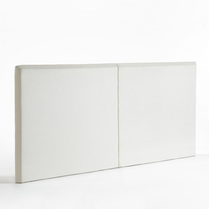 t te de lit h120 cm larg xl sandor am pm blanc la redoute. Black Bedroom Furniture Sets. Home Design Ideas