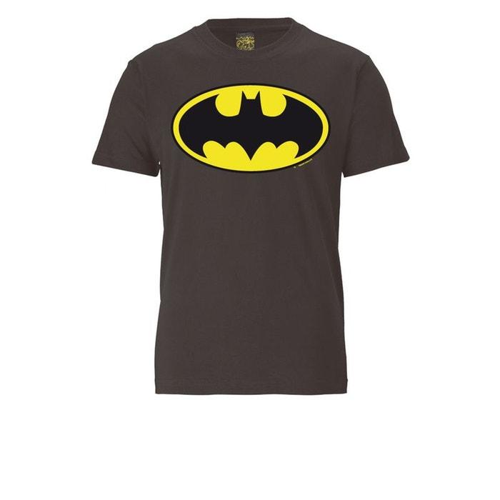 batman logo gris fonc logoshirt la redoute. Black Bedroom Furniture Sets. Home Design Ideas
