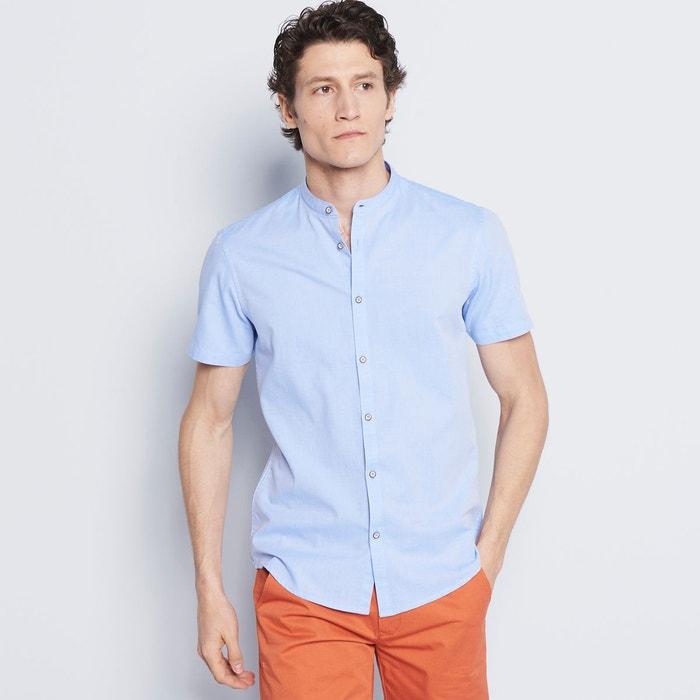 chemise homme casual unie bleu ciel devred la redoute. Black Bedroom Furniture Sets. Home Design Ideas