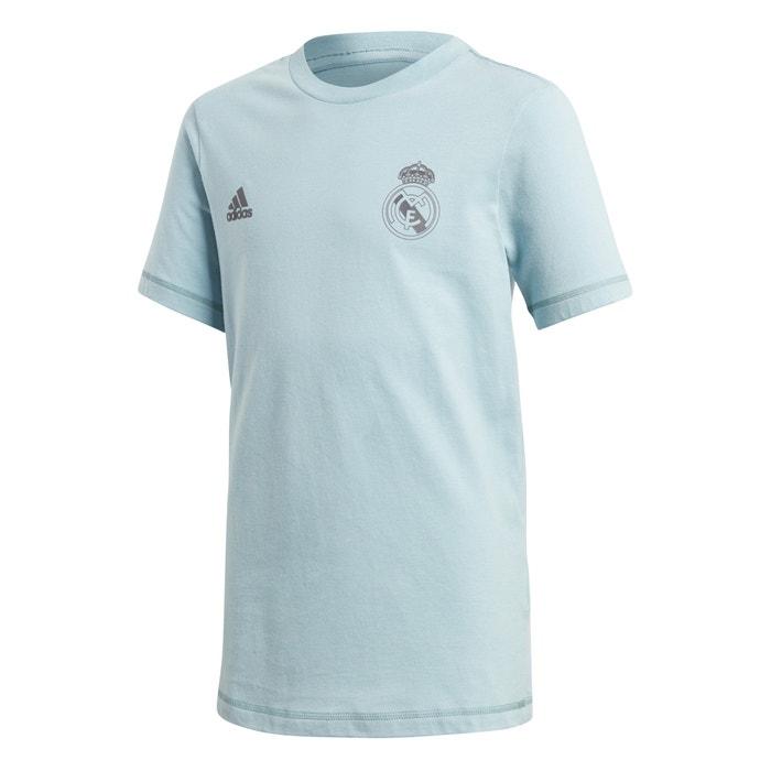 Camiseta real madrid 4 - 16 años gris ceniza Adidas Originals  504aa5564e024