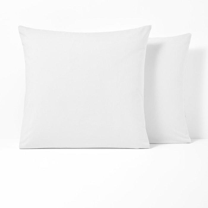 Funda de almohada de algodón sin volante SCENARIO  La Redoute Interieurs image 0