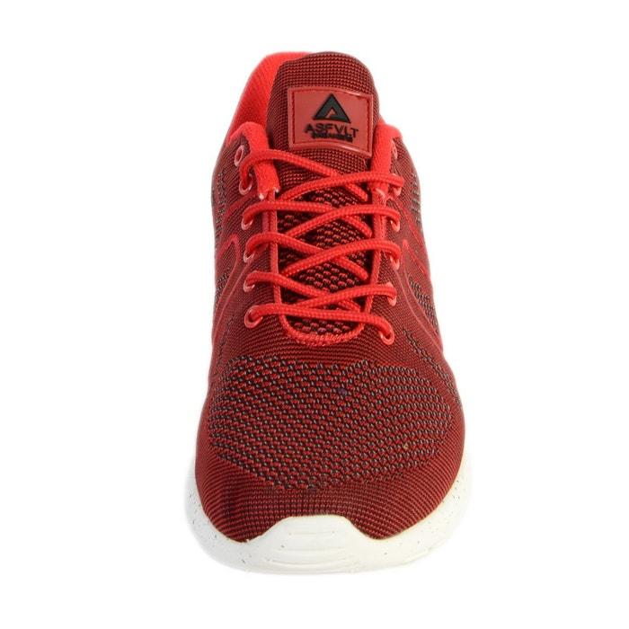 Basket super yarknit rouge rouge Asfvlt