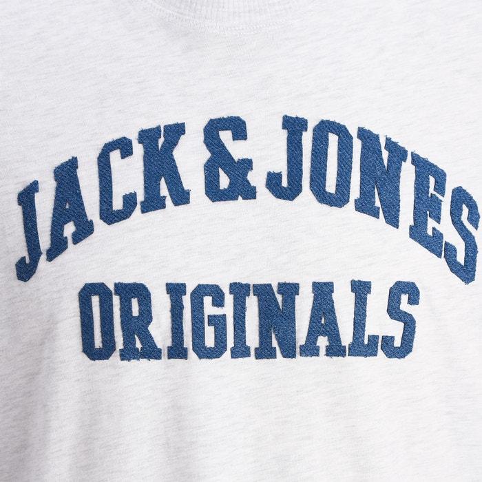 cuello y con amp; redondo JACK motivo Jorpatchy Camiseta JONES YnwIqt4RU