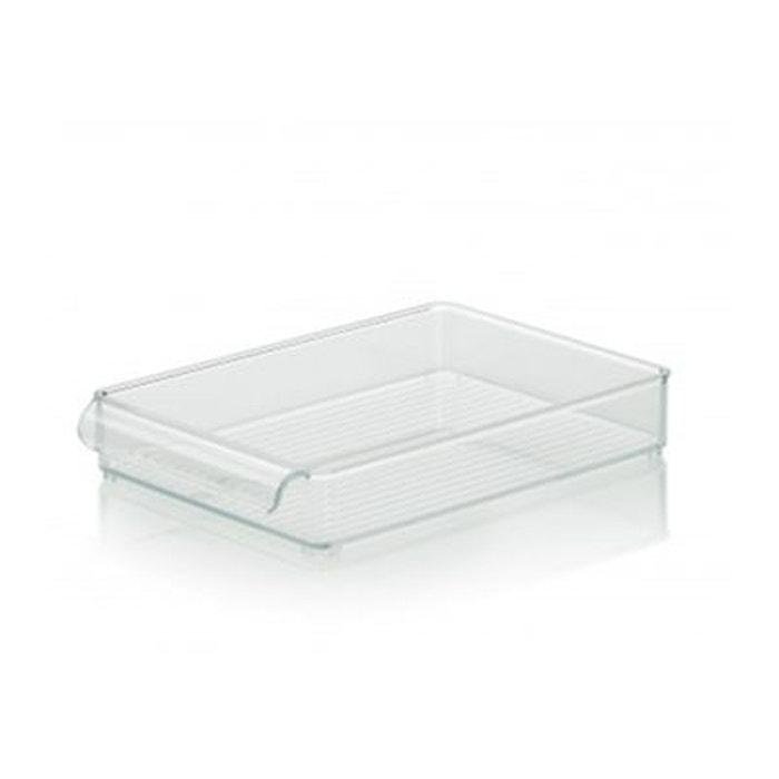 bo te de rangement pour r frig rateur et placards de cuisine 30cm x x 5cm transparent. Black Bedroom Furniture Sets. Home Design Ideas
