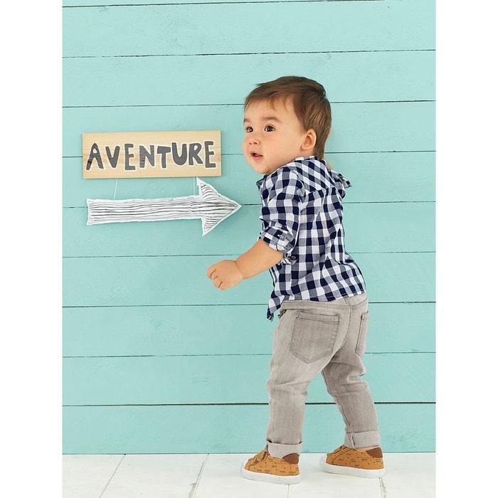 Chemise à grands carreaux bébé garçon