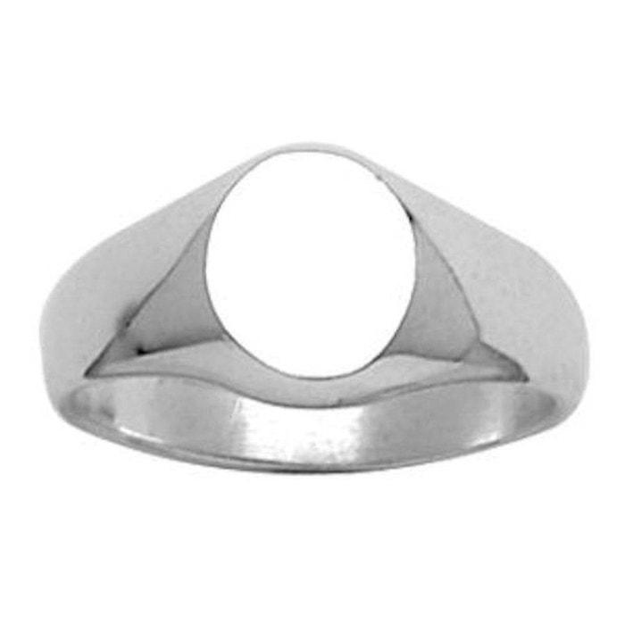 Vue Rabais Chevalière bague anneau arrondi circulaire argent 925 couleur unique So Chic Bijoux   La Redoute Pas Cher 100% Garanti 351Cu