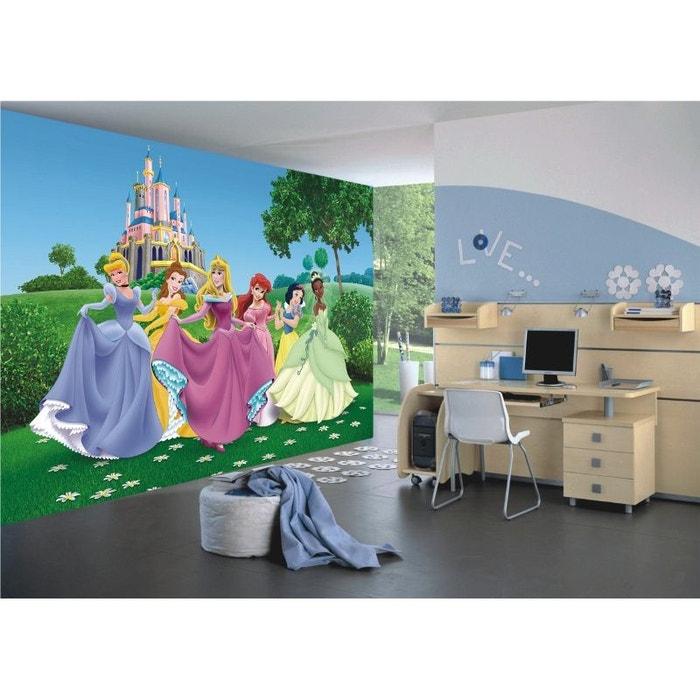 Papier Peint Xxl Chateau Princesse Disney 360x255 Cm Multicolor