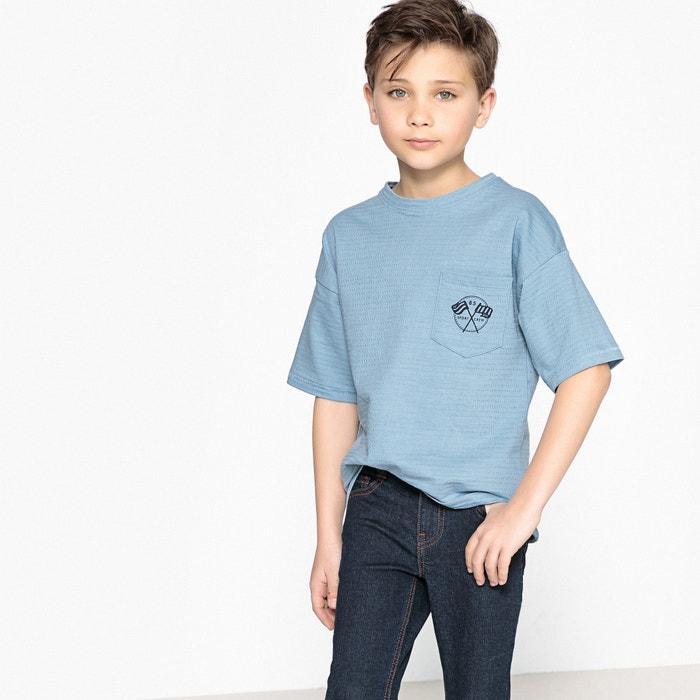Oversized T-Shirt mit rundem Ausschnitt, 3-12 Jahre  La Redoute Collections image 0