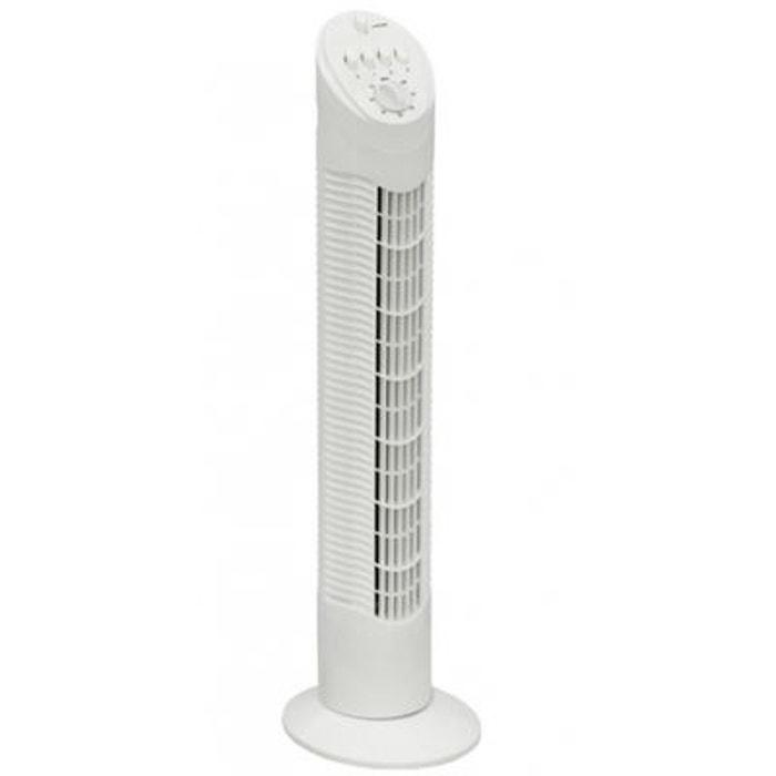 ventilateur colonne blanc avec minuterie jusqu 39 2 h 3 vitesses silencieux couleur unique. Black Bedroom Furniture Sets. Home Design Ideas