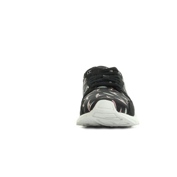 Chaussures lcs r900 bird of paradise black/optical w noir, blanc et multicouleur Le Coq Sportif