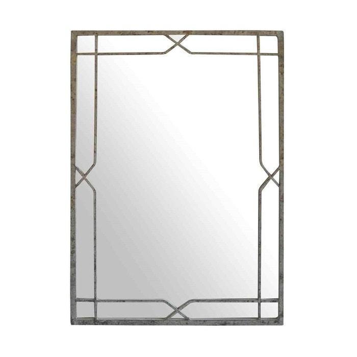 miroir indus nuanc gaspard gris emde premium la redoute. Black Bedroom Furniture Sets. Home Design Ideas