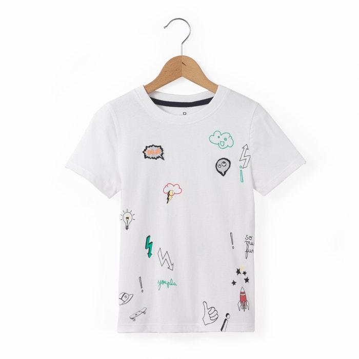 """Imagen de Camiseta motivo """"parches"""" 3-12 años abcd'R"""