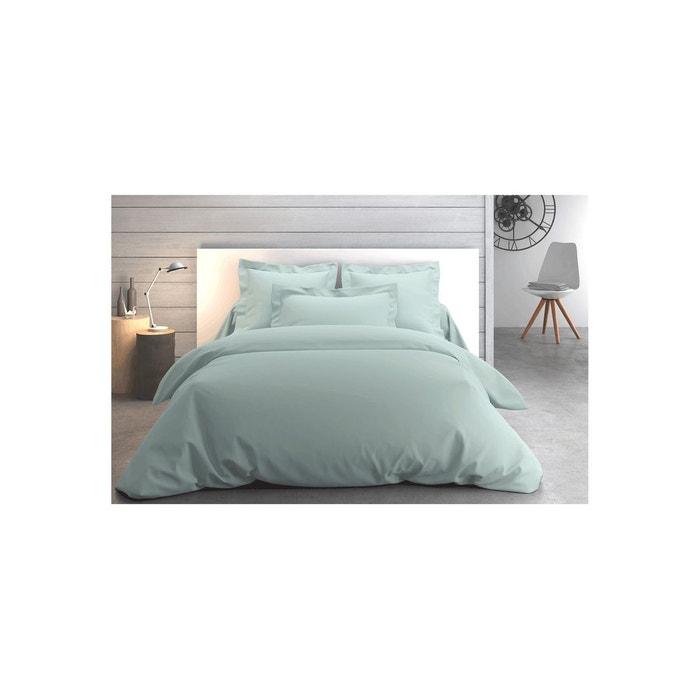 housse de couette uni cumulus beige anne de solene la redoute. Black Bedroom Furniture Sets. Home Design Ideas