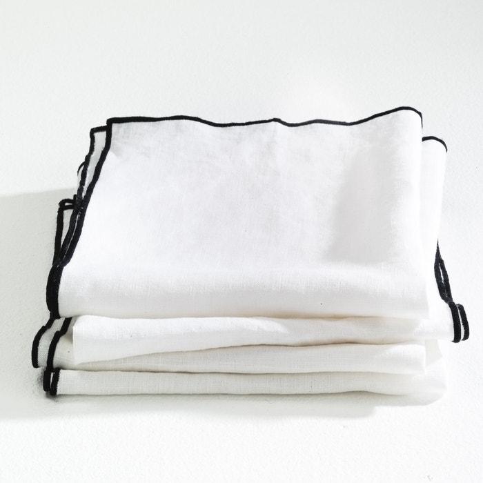 Imagen de Servilleta Suzy de lino lavado (lote de 4) AM.PM.