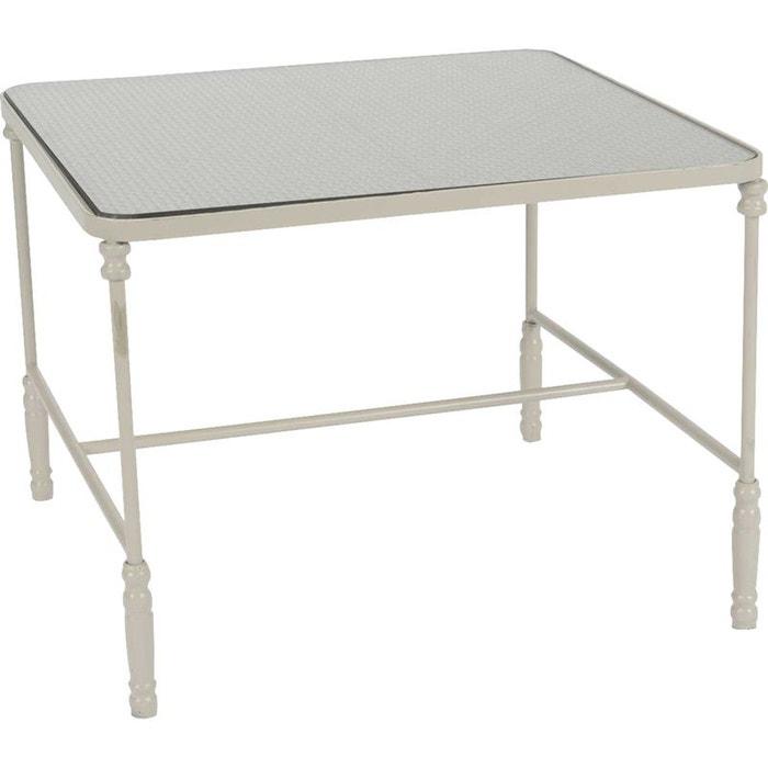 Table basse carr domino blanc amadeus la redoute - La redoute table basse ...