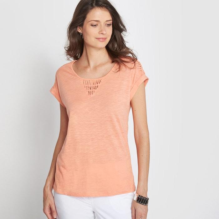 Image T-shirt z bawełny flamé ANNE WEYBURN